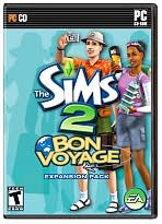 The Sims 2: Bon Voyage Expansion Pack PC