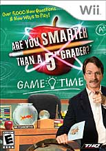 Are You Smarter than a 5th Grader? Game Time Wii