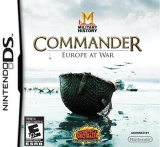Commander: Military History - Europe at War DS