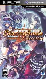 Blazing Souls Accelate PSP