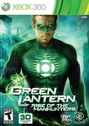 Green Lantern: Rise of the Manhunters Xbox 360