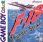 F-18 Thunder Strike Game Boy