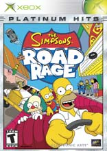 The Simpsons: Road Rage Xbox