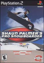 Shaun Palmer's Pro Snowboarder PS2