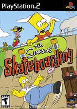 The Simpsons: Skateboarding PS2