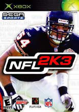 NFL 2K3 Xbox
