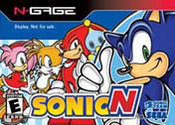 Sonic N N-Gage
