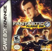Fantastic 4: Flame On GBA