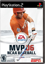 MVP 06 NCAA Baseball PS2