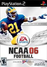 NCAA Football 06 PS2