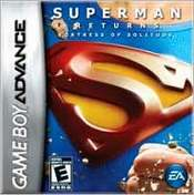 Superman Returns: Fortress of Solitude GBA